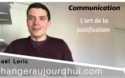L'art de la justification