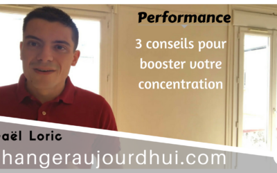 Booster sa Concentration & Motivation⎪Mes 3 Conseils
